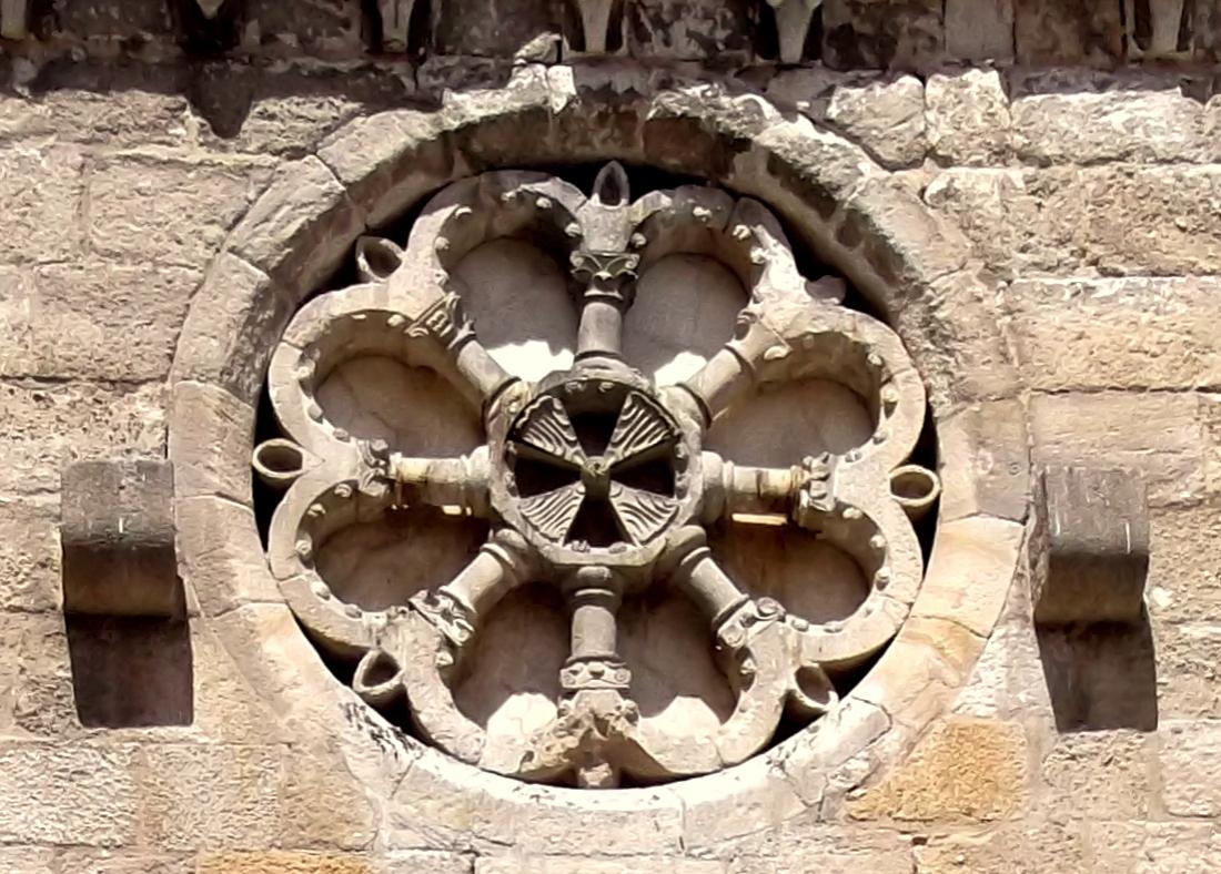 Resultado de imagen de San Juan de Puerta Nueva  roseton