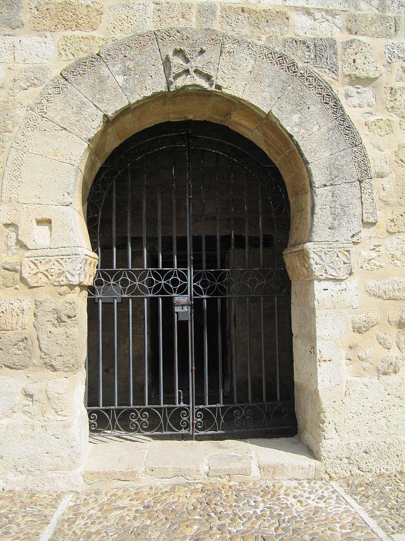 baños Entrada_Principal_Arco_de_herradura_visigodo_Ermita_San_Juan_de_Baños