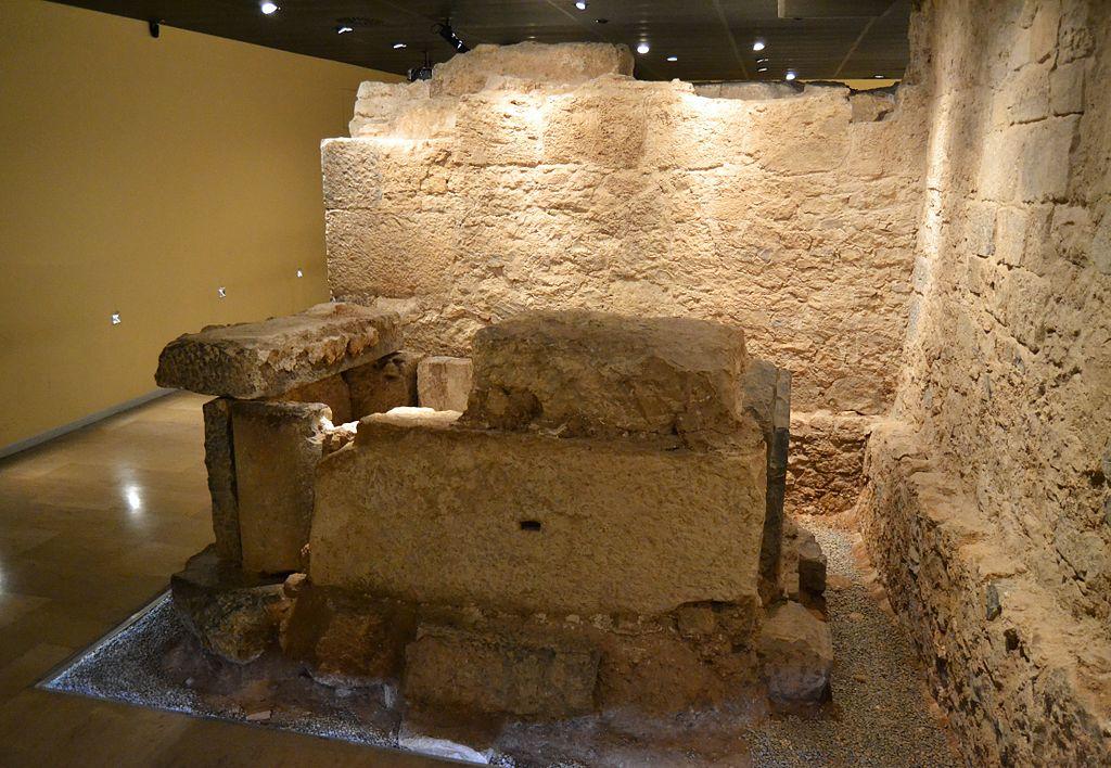 Cripta_arqueològica_de_la_presó_de_sant_Vicent_Màrtir_de_València,_tomba