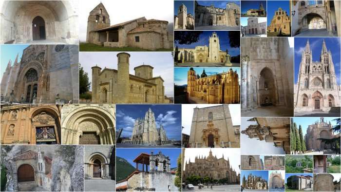 Collage-arte-castilla-leon