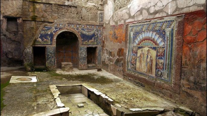 Resultado de imagen de Villa de los Papiros de Herculano
